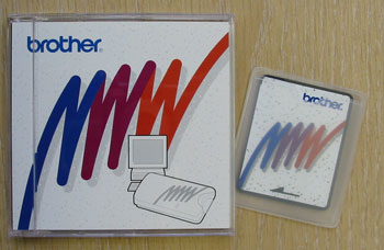 Brother Blank PE-Design Memory Card