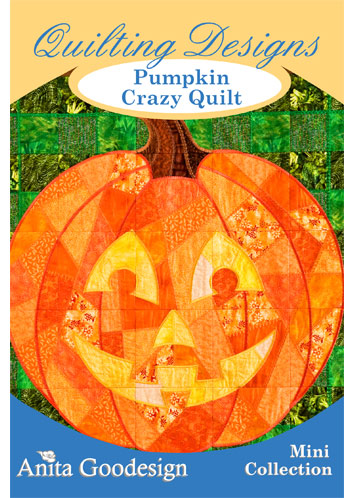 Pumpkin Crazy Quilt