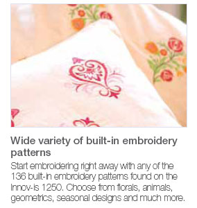 NV1250 Embroidery Patterns