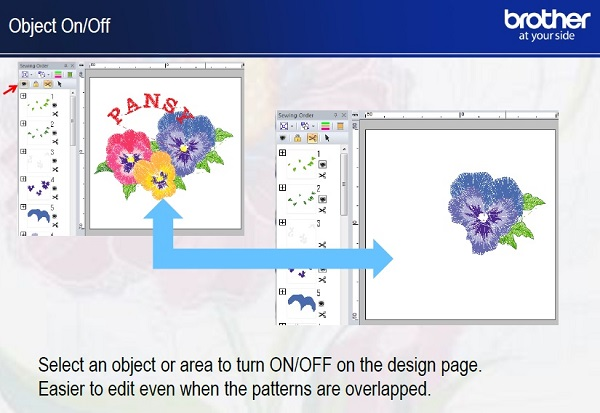 Brother pe design embroidery software upgrade from