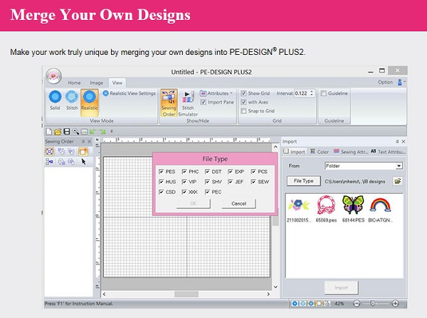 Brother pe design plus basic embroidery software