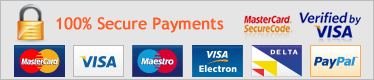 secure payments including PayPal