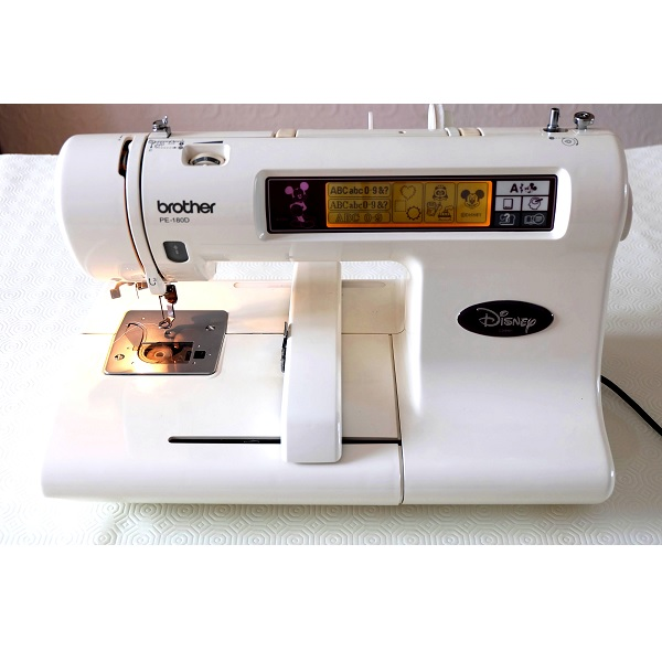 Brother PE40D Disney Embroidery Machine Mesmerizing Brother Disney Sewing Machine