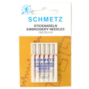 Schmetz Embroidery Needles 75/11 | Machine Embroidery Needles