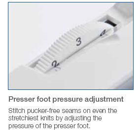 NV1250 Presser Foot Adjuster